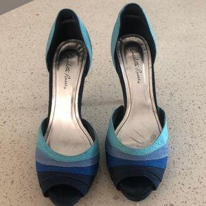 Blue heels - Charlotte Russe